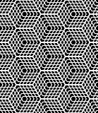 Seamless op art pattern. Latticed structure.