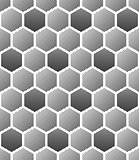 Seamless hexagons texture. Honeycomb pattern.