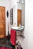 Modern design guest bathroom
