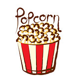 Vector Popcorn