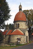 The Chapel of St Wenceslas in the village Vlci, Czech republic