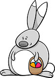 easter bunny holiday cartoon