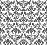 Seamless wallpaper background floral vintage