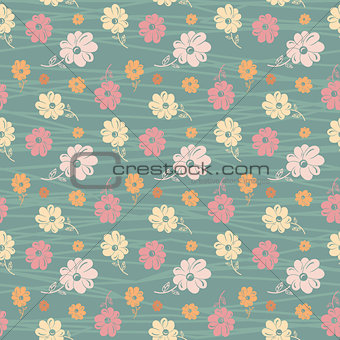 classic wallpaper seamless vintage flower pattern