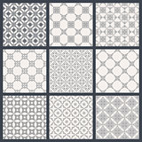 Eastern backgrounds seamless patterns