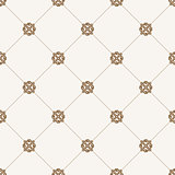 Vector seamless tile pattern. Modern stylish texture