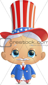 beautiful character to the President s Day