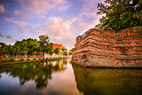 Chiang Mai Old City Wall