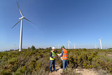 Engineers of Wind Turbine