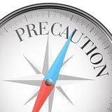 compass concept Precaution