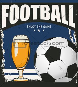 Football banner game