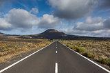 Lanzarote scenic road