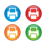 Printer  Vector icon. color icon