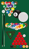 billiard and snooker