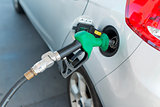Gast Station Filling Up Car