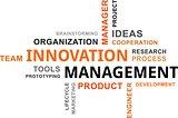 word cloud - innovation management