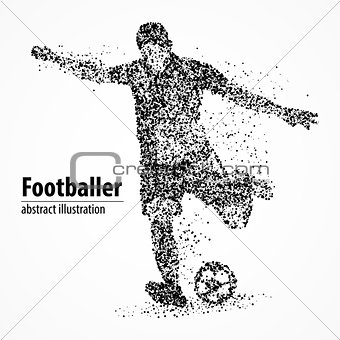 abstraction, football, athlete