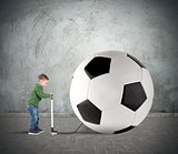 Big soccerball