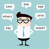 Businessman Programming Languages