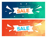 Super Sale Special Offer banner on yellow background