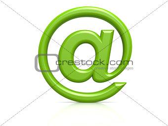 Green alias sign