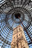 Shot Tower inside Melbourne Central vertical image