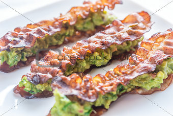 Bacon and guacamole sammies
