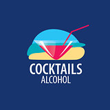 alcoholic cocktails logo