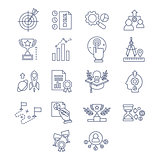 Vector of flat line design and development icons