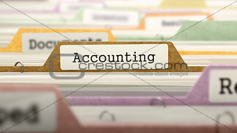 Accounting - Folder Name in Directory.