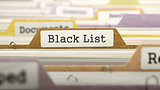 Black List Concept on Folder Register.