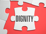 Dignity - Puzzle on the Place of Missing Pieces.