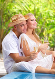 Romantic honeymoon vacation