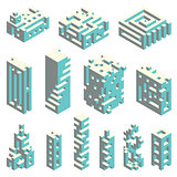 Isometric cubes architecture