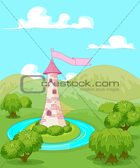 Fairytale tower