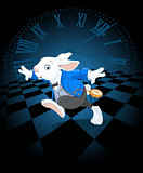 Running White Rabbit