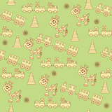 Seamless pattern of children's toys1