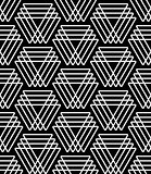 Seamless pattern with triangle elements.
