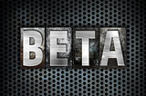 Beta Concept Metal Letterpress Type