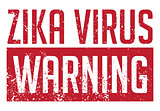 Zika Virus Warning Illustration