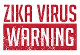 Zika Virus Warning Illustration