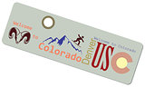 Label Welcome to Colorado