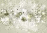 Abstract sepia vector Christmas background