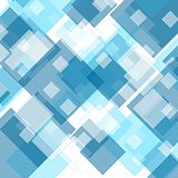 Tech geometric blue background