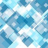 Tech geometric blue background