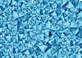 Abstract blue polygonal vector texture