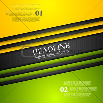 Abstract bright tech corporate background