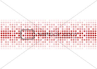 Abstract red shiny circles background