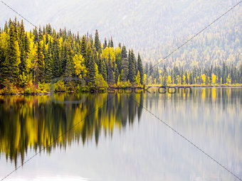 Alaska Autumn - Foliage Reflection
