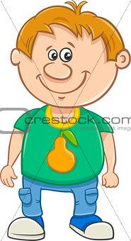 little boy cartoon illustration
